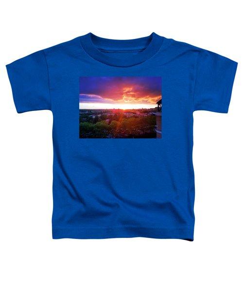 Urban Sunset Toddler T-Shirt