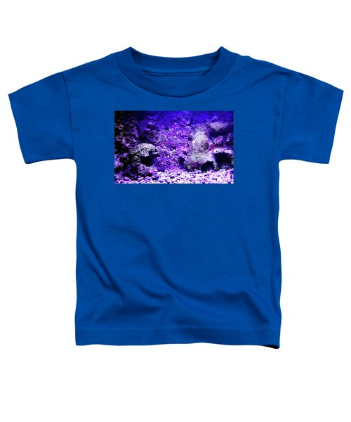 Toddler T-Shirt featuring the photograph Uw Coral Stone 2 by Francesca Mackenney
