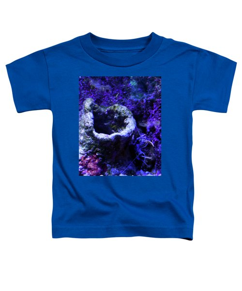 Toddler T-Shirt featuring the digital art Uw Coral Stone by Francesca Mackenney