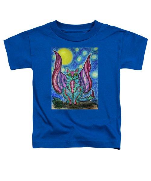 Vampy Kitty Toddler T-Shirt