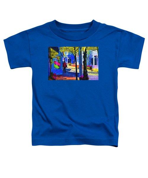 Village Shopping Toddler T-Shirt