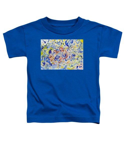 Volcanic Sea Acrylic/water Toddler T-Shirt