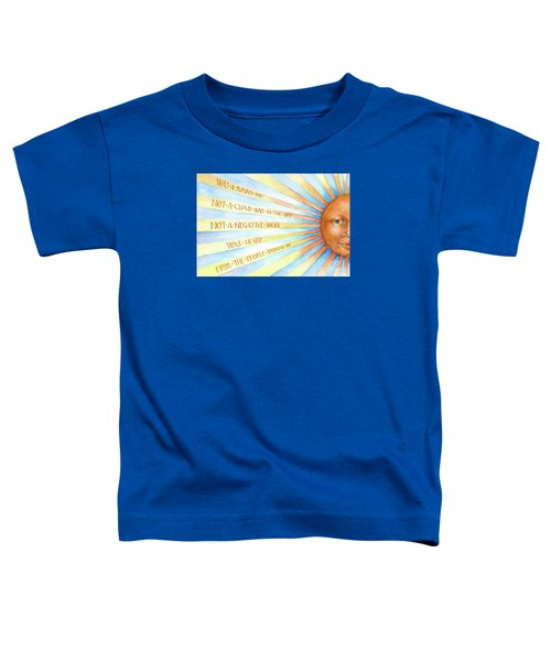 Was A Sunny Day Toddler T-Shirt