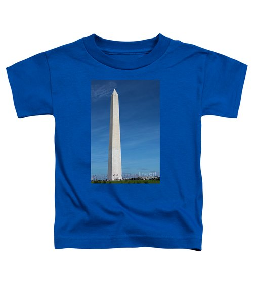 Washington Monument Toddler T-Shirt