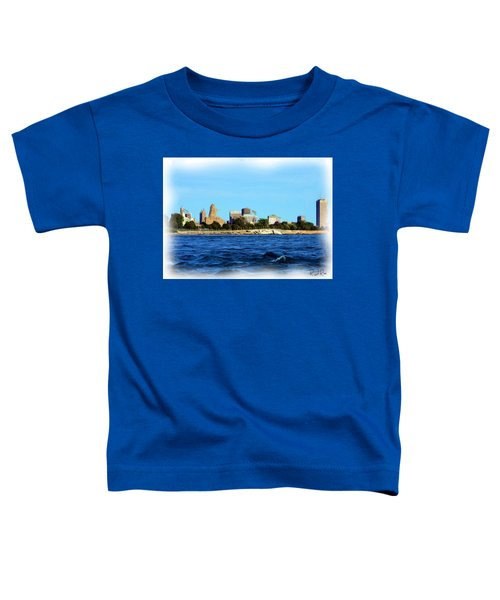 Waterfront Decay Four Toddler T-Shirt
