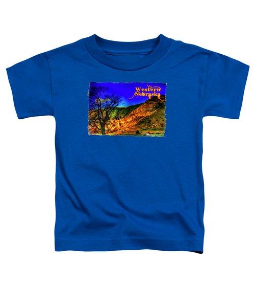 Western Nebraska Near Chimney Rock Toddler T-Shirt