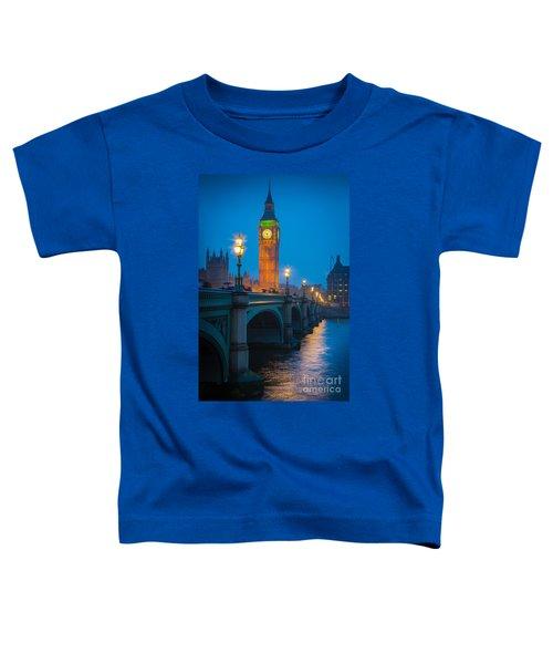 Westminster Bridge At Night Toddler T-Shirt