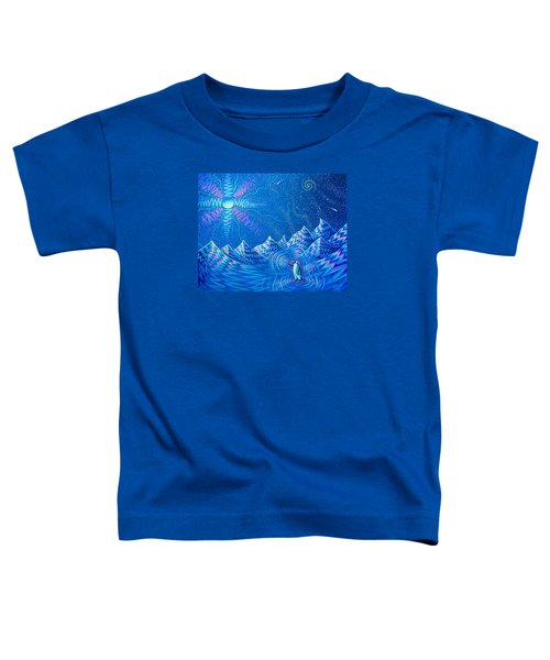 Enlightenment Of The Penguin Toddler T-Shirt