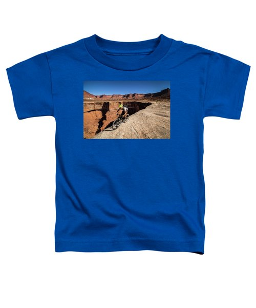 Toddler T-Shirt featuring the photograph White Rim by Whit Richardson