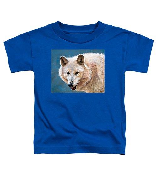 White Wolf Toddler T-Shirt