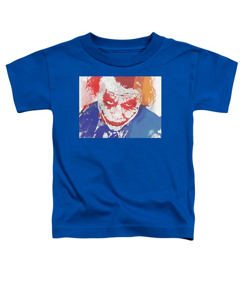 Why So Serious Toddler T-Shirt by Dan Sproul