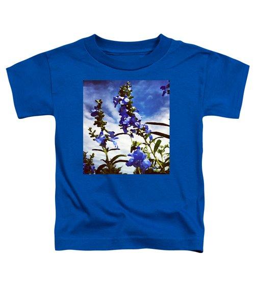 Wild Blue Sage  Toddler T-Shirt