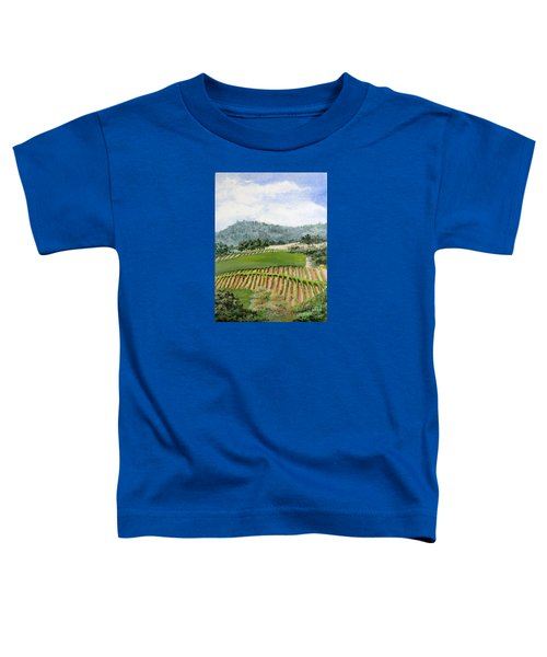 Wine Country Toddler T-Shirt