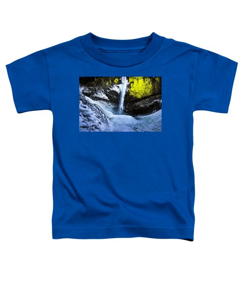 Winter At Latourell Falls Toddler T-Shirt