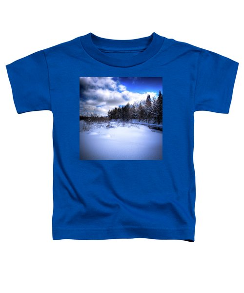 Toddler T-Shirt featuring the photograph Winter Highlights by David Patterson