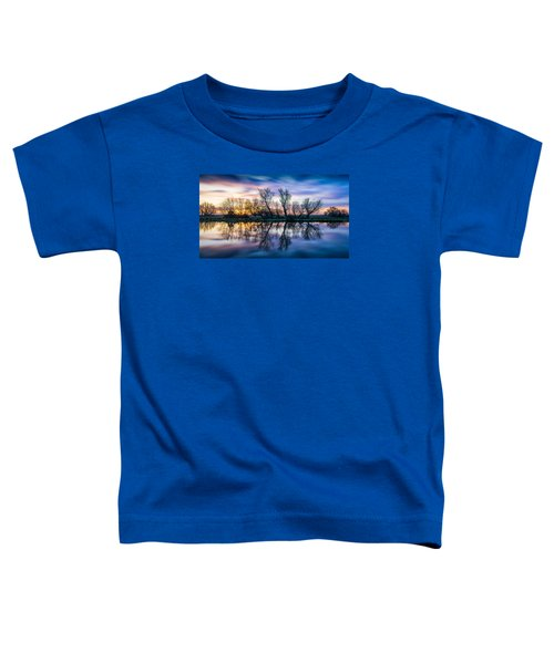Winter Sunrise Over The Ouse Toddler T-Shirt