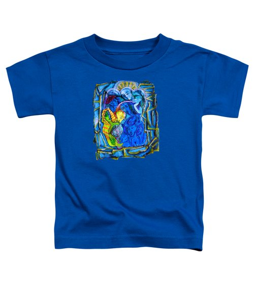 Yeti And The Mermaid Series I Don't You See? Toddler T-Shirt by Joanna Whitney