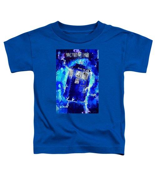 Doctor Who Tardis Toddler T-Shirt