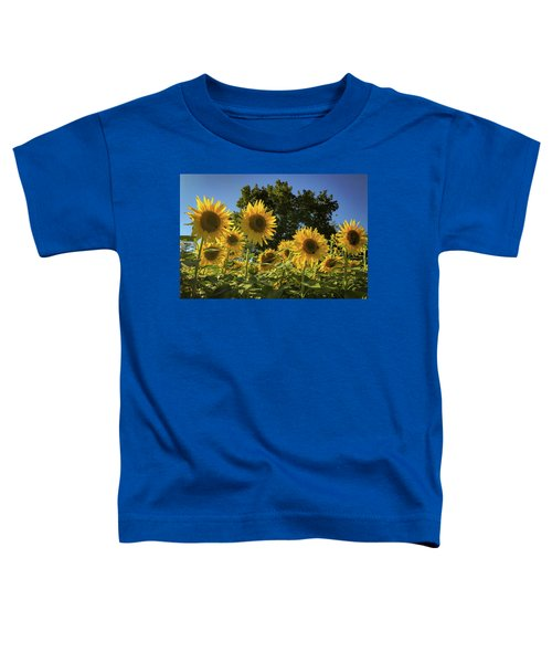 Sunlit Sunflowers Toddler T-Shirt