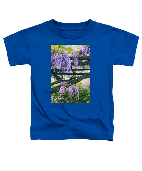 Wisteria In Bloom Toddler T-Shirt
