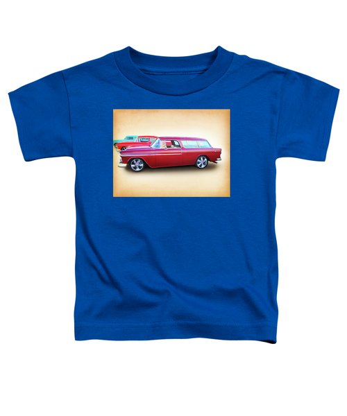 3 - 1955 Chevy's Toddler T-Shirt