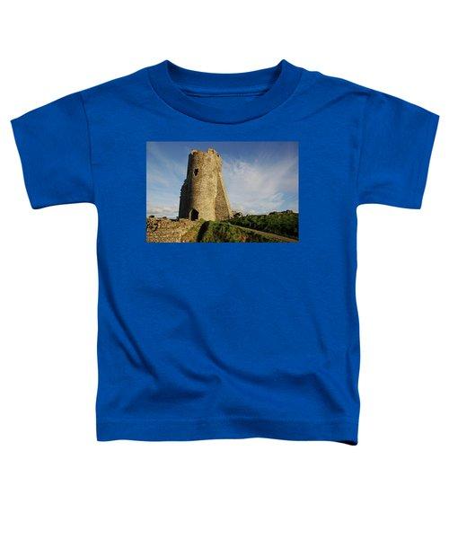 Aberystwyth. The Castle Gatehouse. Toddler T-Shirt