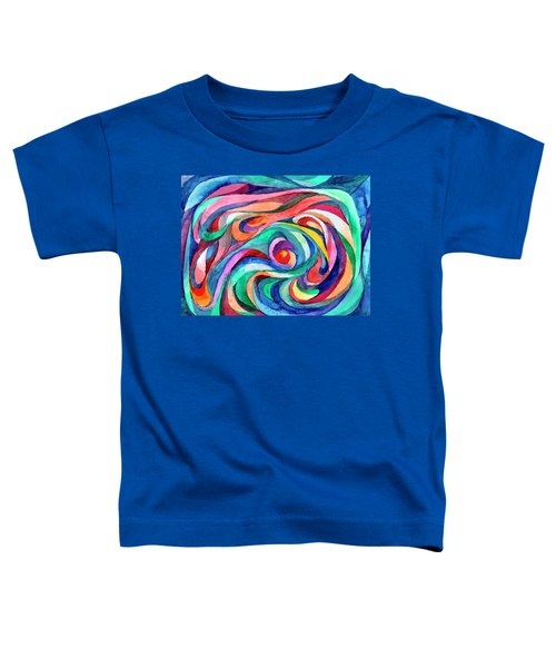 Abstract Underwater World Toddler T-Shirt