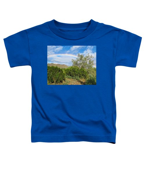 After An Arizona Winter Rain Toddler T-Shirt