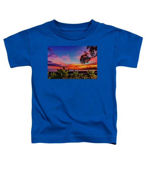 After Sunset Colors Toddler T-Shirt