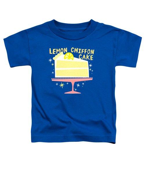 All American Classic Lemon Chiffon Cake Toddler T-Shirt