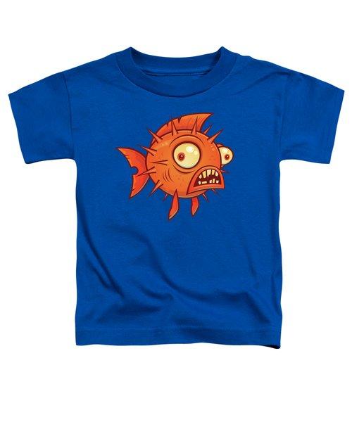 Pufferfish Toddler T-Shirt