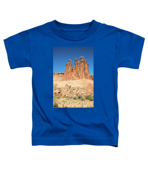 Balanced Rocks In Arches Toddler T-Shirt