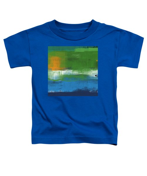 Barcelona- Abstract Art By Linda Woods Toddler T-Shirt