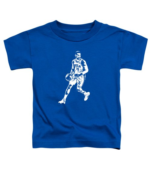 Ben Simmons Philadelphia 76ers T Shirt Apparel Pixel Art 1 Toddler T-Shirt