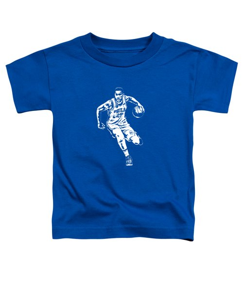 Ben Simmons Philadelphia 76ers T Shirt Apparel Pixel Art 2 Toddler T-Shirt