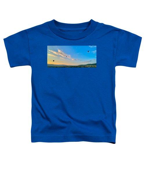 Binghamton Spiedie Festival Air Ballon Launch Toddler T-Shirt
