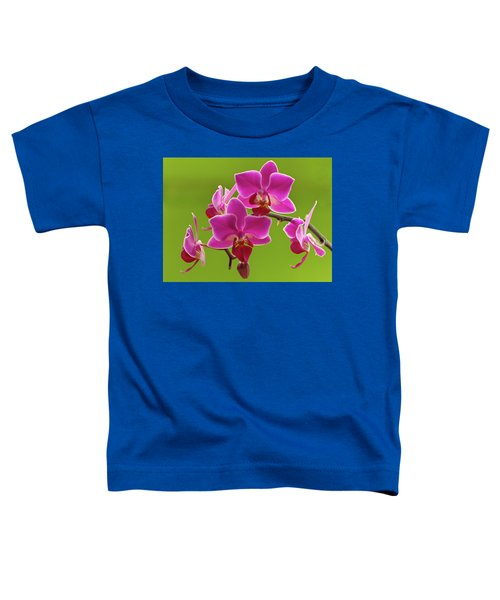 Brilliant Pink Orchid Toddler T-Shirt