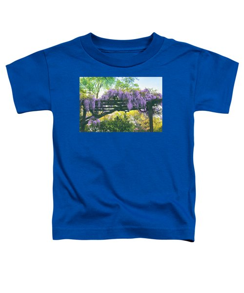 A Whiff Of Wisteria   Toddler T-Shirt