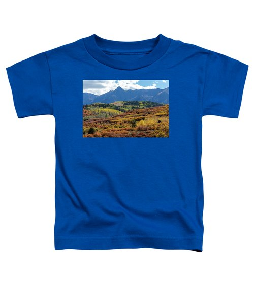 Toddler T-Shirt featuring the photograph Colorado Color Bonanza by James BO Insogna