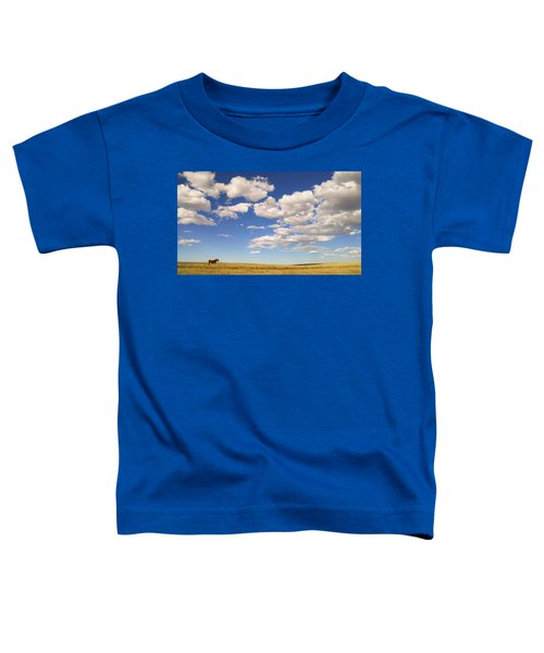Toddler T-Shirt featuring the photograph Cumulus by Carl Young