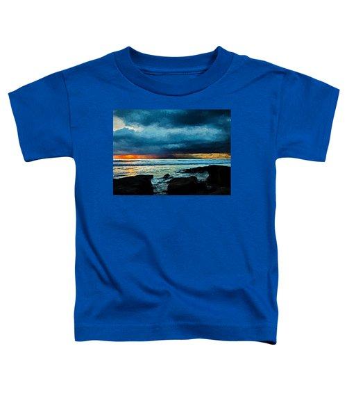 Distant Rain Clouds Toddler T-Shirt