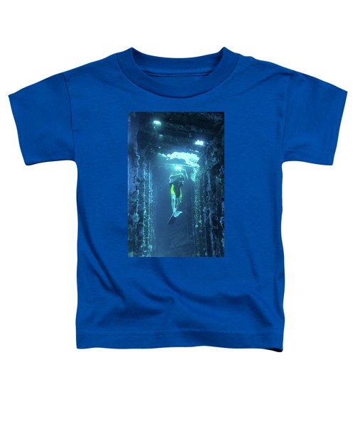 Diver In The Patris Shipwreck Toddler T-Shirt