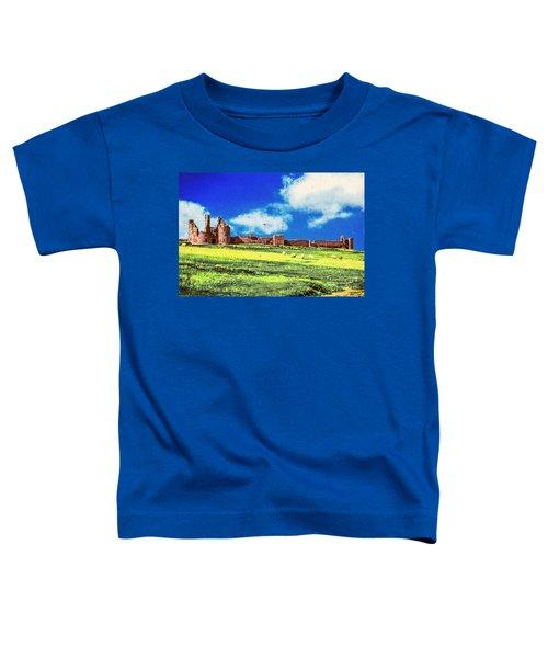 Dunstanburgh Castle In Oil Toddler T-Shirt