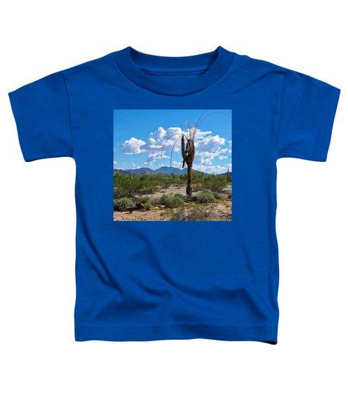 Dying Saguaro In The Desert Toddler T-Shirt