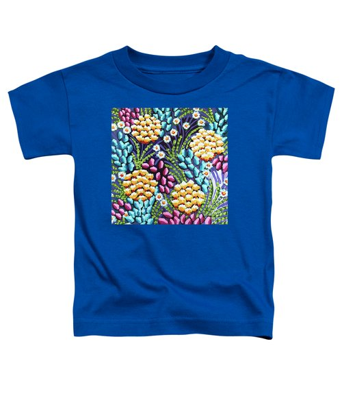 Floral Whimsy 2 Toddler T-Shirt