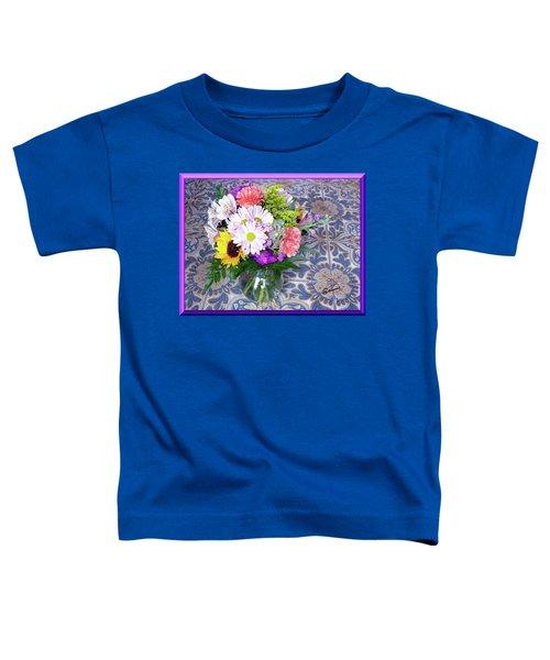 Flower Bouquet  Toddler T-Shirt