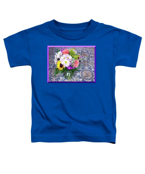 Flower Bouquet  Toddler T-Shirt