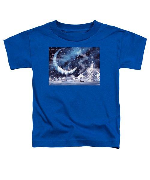 Frozen Moon Toddler T-Shirt