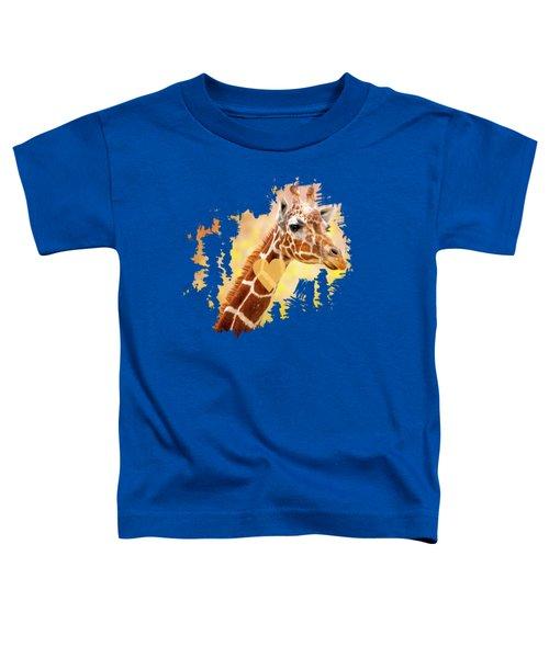 Giraffe, Animal Decor, Nursery Decor,  Toddler T-Shirt