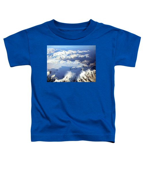 Icebound Mountains Toddler T-Shirt